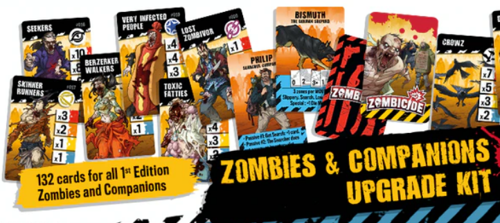 Zombicide (2nd Edition) Zombies & Companions Upgrade Kit