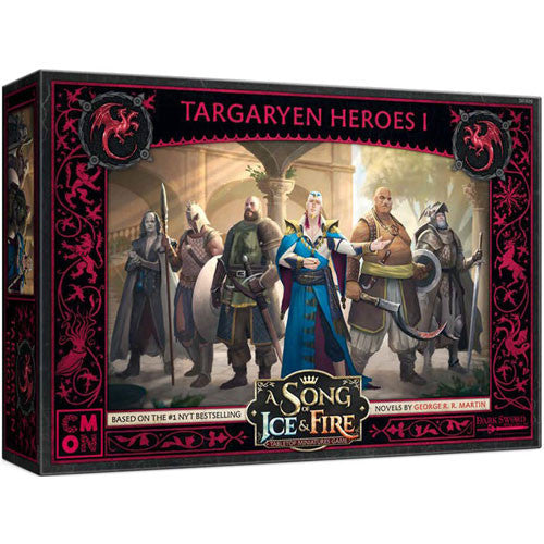 A Song of Ice & Fire: Tabletop Miniatures Game – Targaryen Heroes I