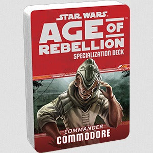 Star Wars Age of Rebellion Commodore Specialization Deck