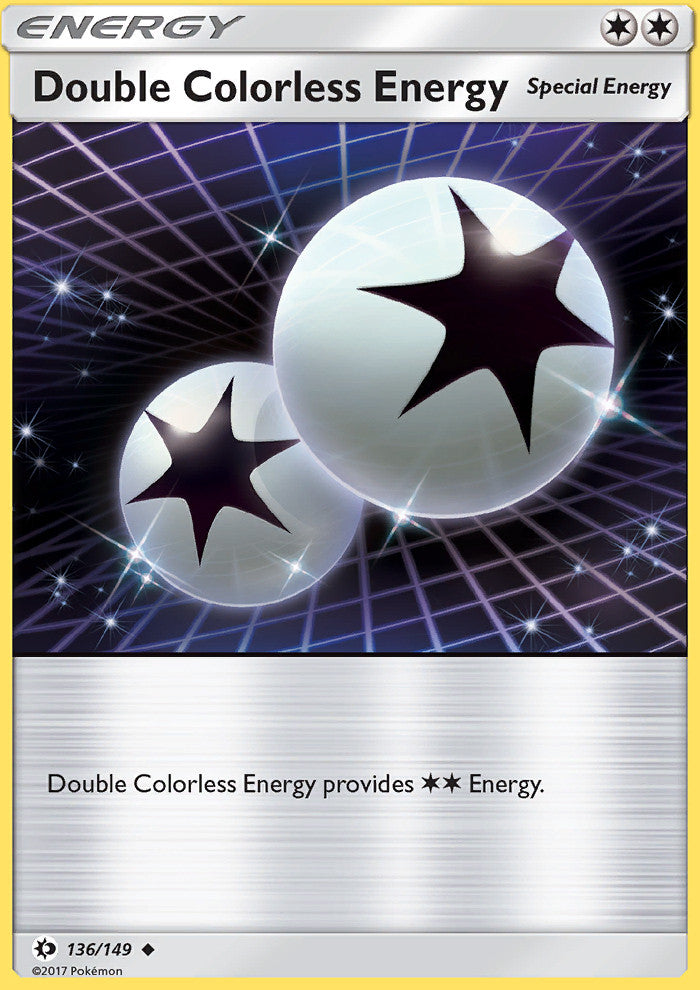 Sun & Moon - Double Colorless Energy - 136/149 - Uncommon - Reverse Holo