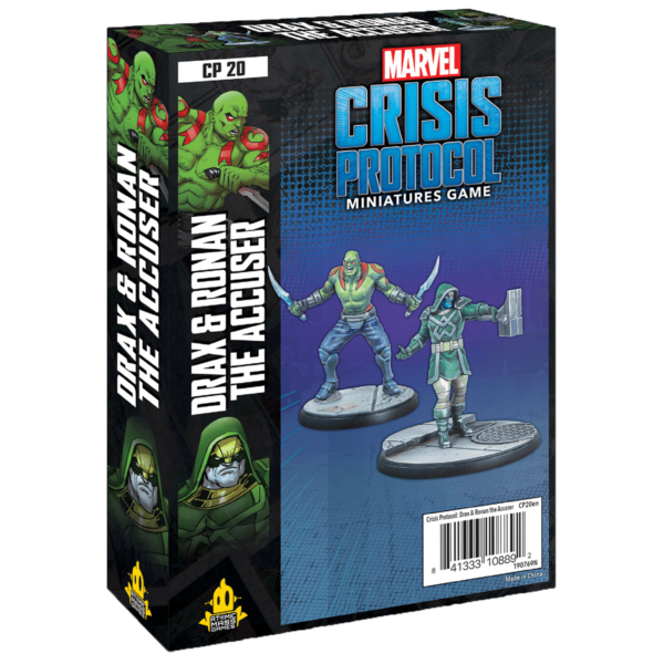 Marvel: Crisis Protocol – Drax and Ronan the Accuser