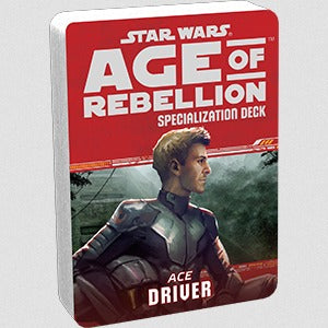 Star Wars Age of Rebellion Driver Specialization Deck