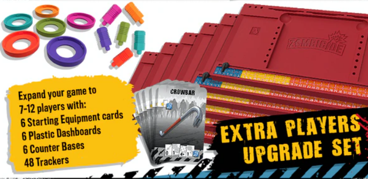 Zombicide (2nd Edition) Extra Players Upgrade Kit