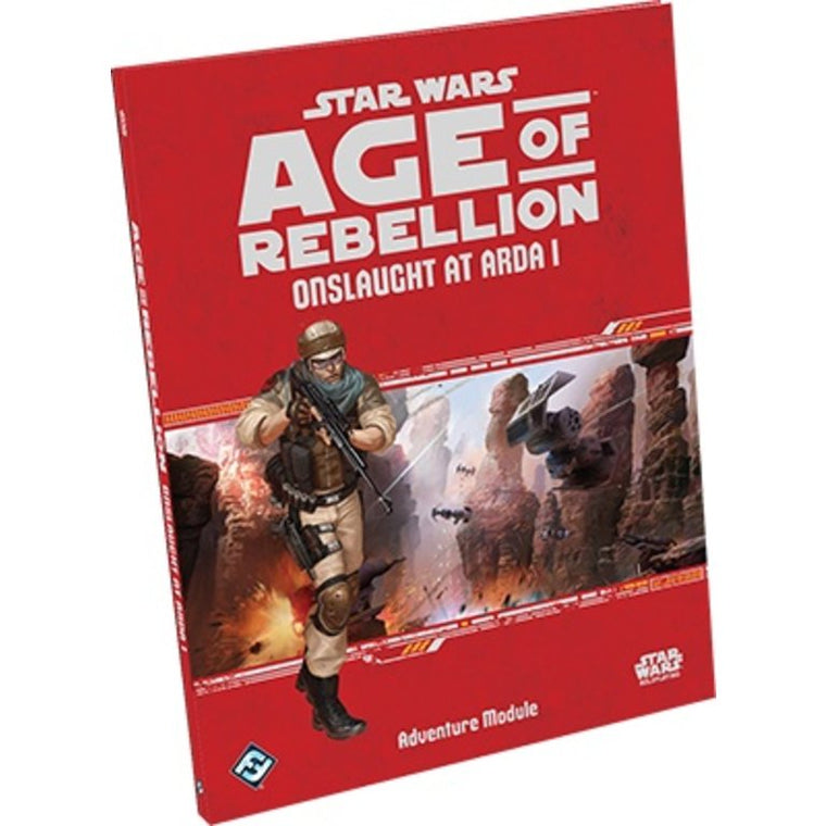 Star Wars Age of Rebellion Onslaught at Arda I Adventure Module