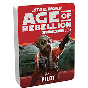 Star Wars Age of Rebellion Pilot Specialization Deck