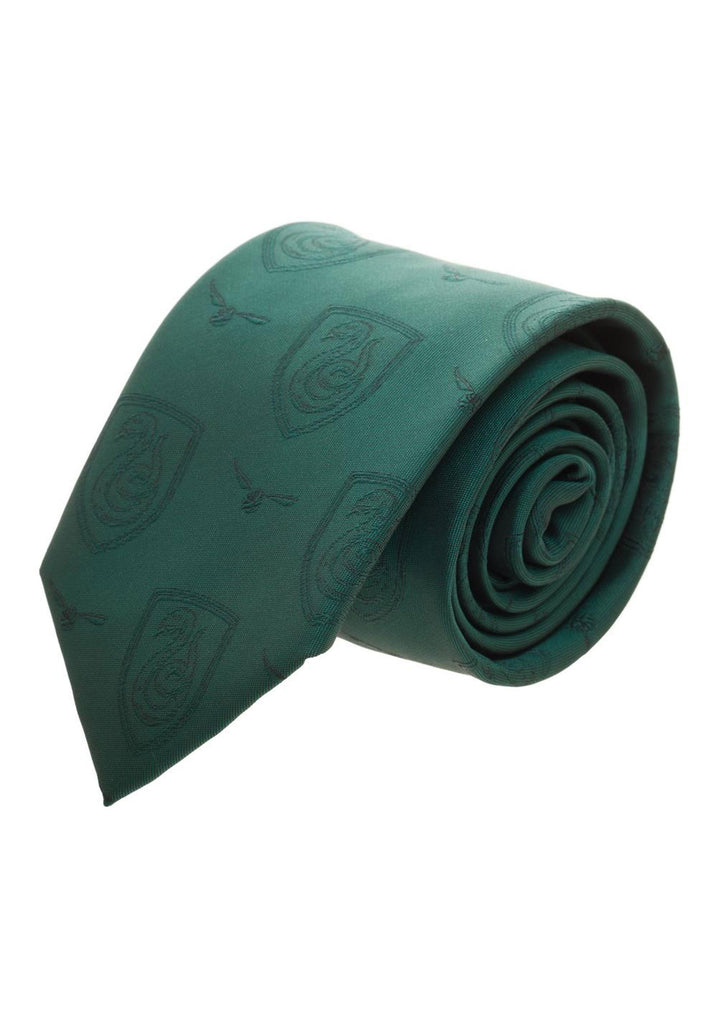 Harry Potter - Slytherin Monochromatic Men's Neck Tie