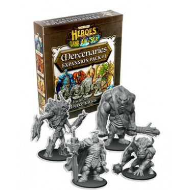 Heroes of Land, Air & Sea Mercenaries Expansion Pack #1