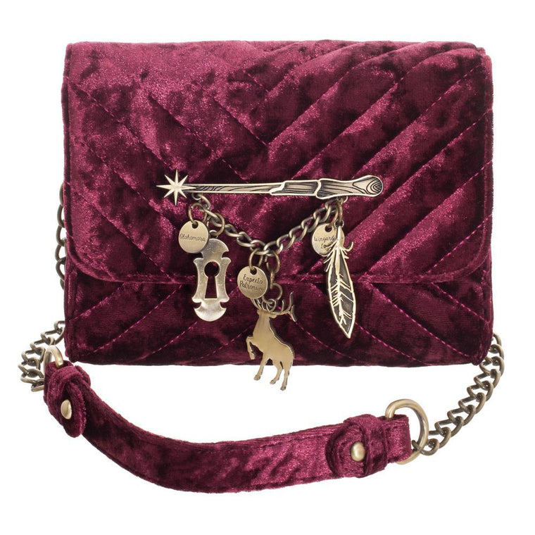 Harry Potter  - Spells Quilted Sidekick Crossbody Bag