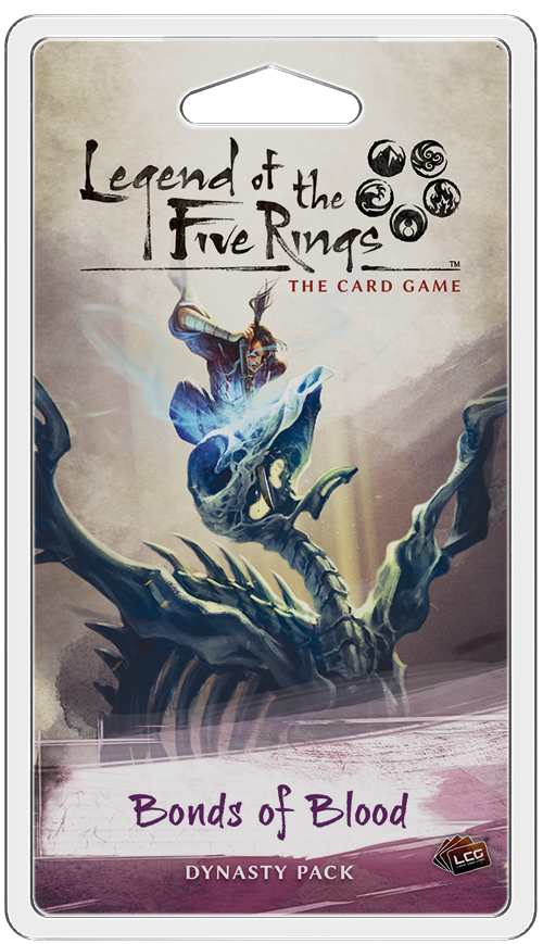 Legend of the Five Rings Bonds of Blood Dynasty Pack