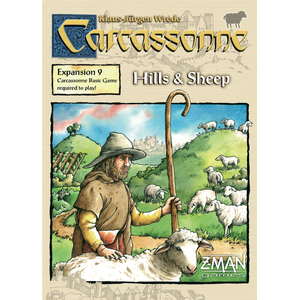 Carcassonne Hills & Sheep Expansion 9 New Edition