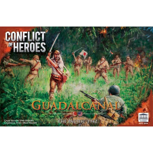 Conflict of Heroes Guadalcanal – The Pacific 1942