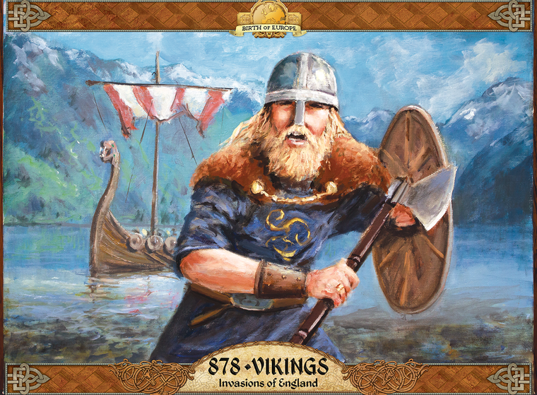 878 Vikings Invasions of England