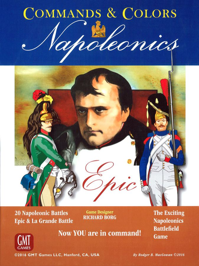 Commands & Colors: Napoleonics Expansion #6 – EPIC Napoleonics