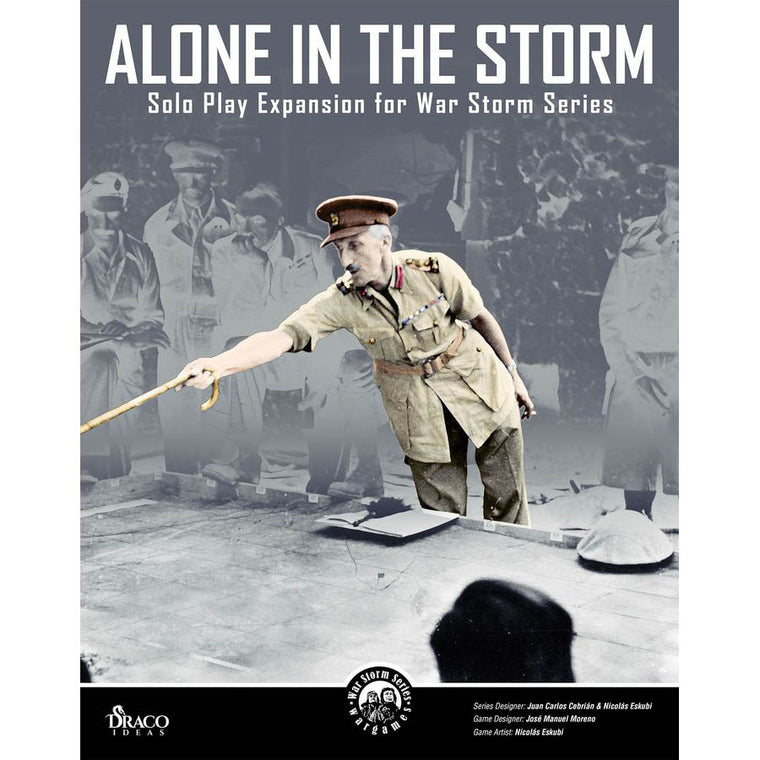 Alone in The Storm Solo Play Expansion for War Storm Series