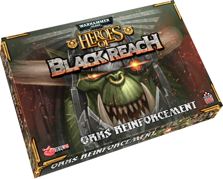 Warhammer 40,000 Heroes of Black Reach Orks Reinforcement