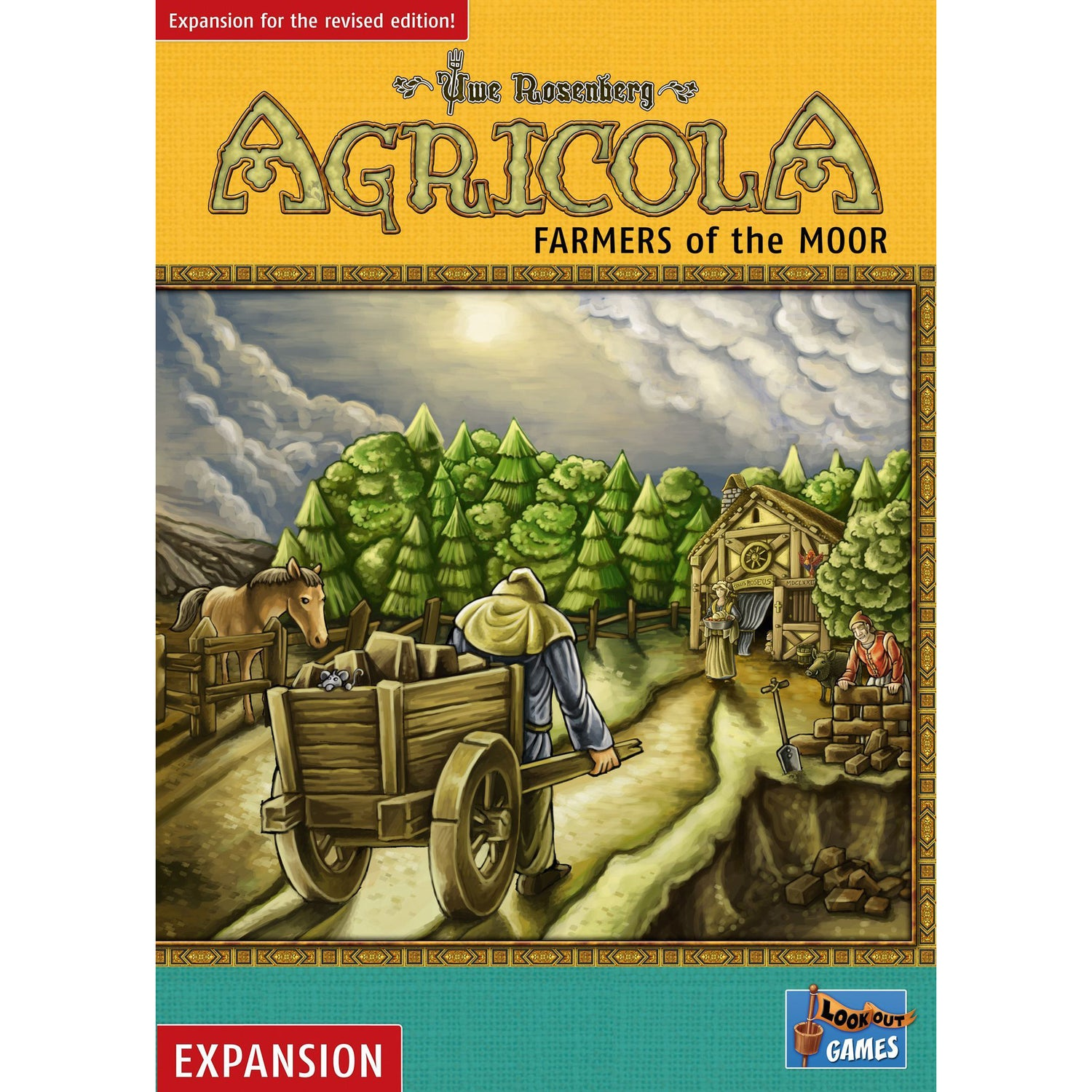 Agricola Farmers of the Moor Expansion