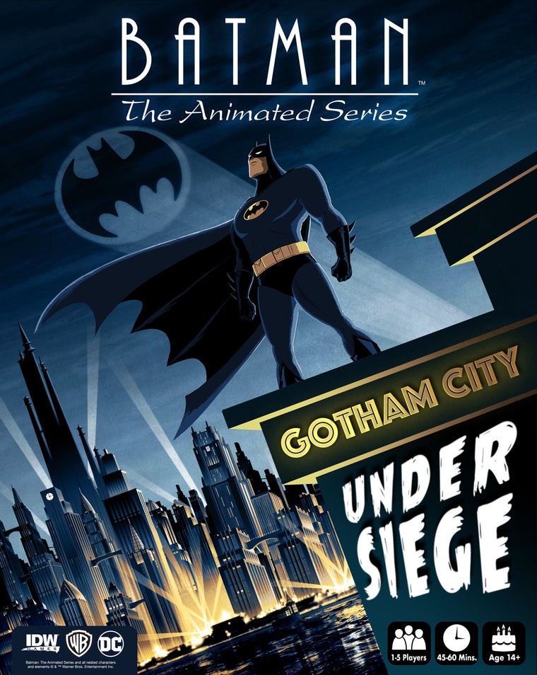 Batman: The Animated Series – Gotham City Under Siege
