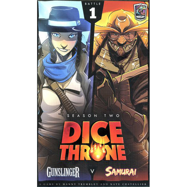 Dice Throne Season Two Gunslinger v. Samurai