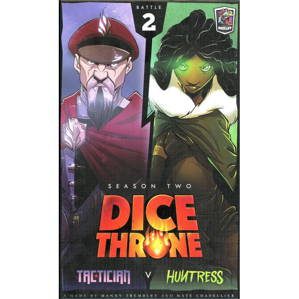 Dice Throne Season Two Tactician v. Huntress