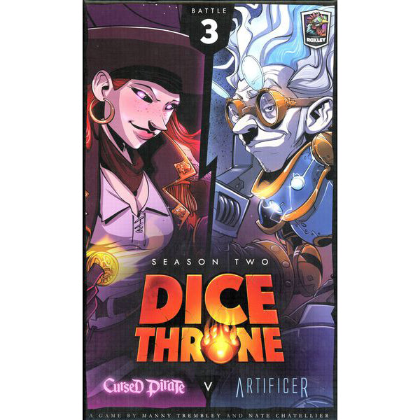Dice Throne Season Two Cursed Pirate v. Artificer