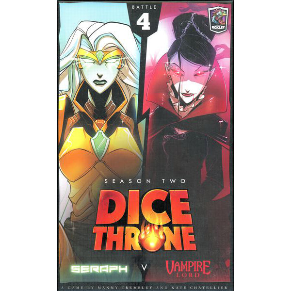 Dice Throne Season Two Seraph v. Vampire Lord