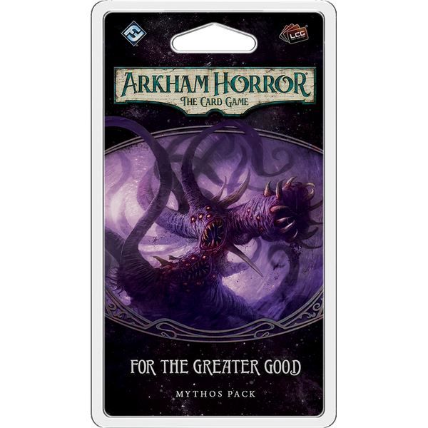 Arkham Horror The Card Game For the Greater Good Mythos Pack