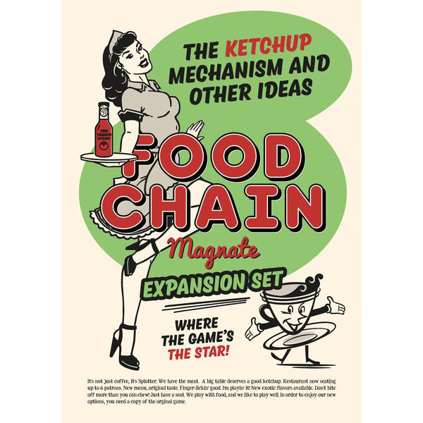 Food Chain Magnate The Ketchup Mechanism & Other Ideas