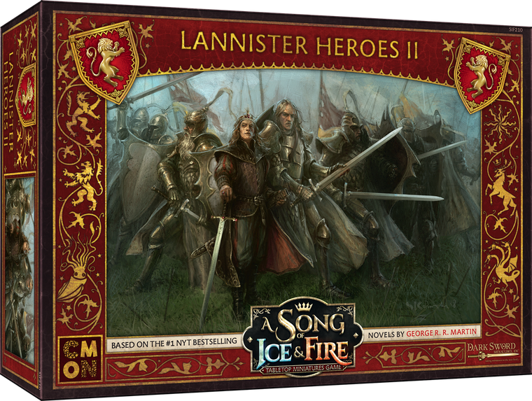A Song of Ice & Fire Lannister Heroes Box 2