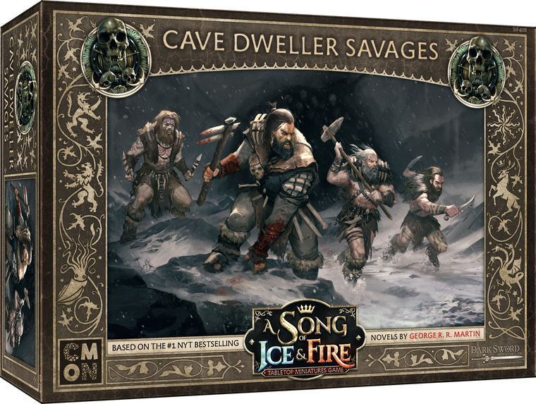 A Song of Ice & Fire Free Folk Cave Dweller Savages