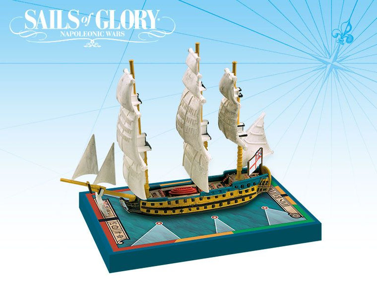 Sails of Glory Ship Pack: HMS Bahama 1805 / HMS San Juan 1805