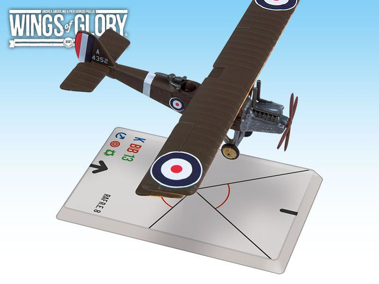 Wings of Glory: World War 1 – RAF R.E.8 Marsh/MacKay Dempster