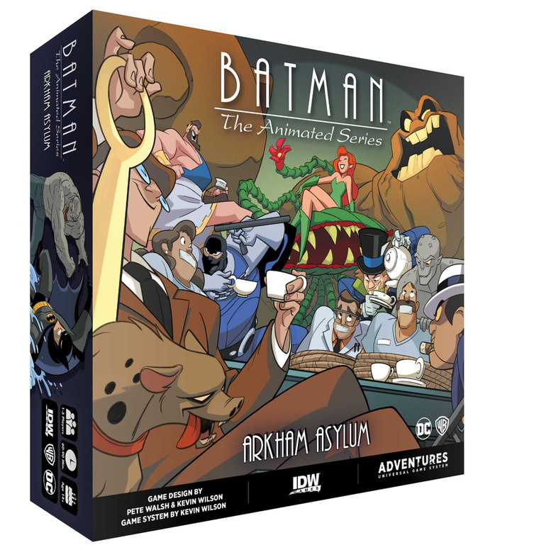 Batman: The Animated Series Adventures – Arkham Asylum Expansion
