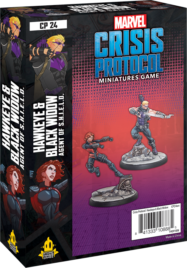 Marvel: Crisis Protocol – Hawkeye & Black Widow, Agent of S.H.I.E.L.D.