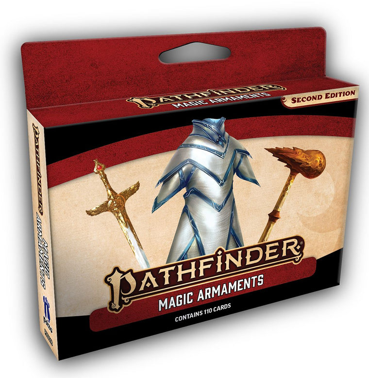 Pathfinder Second Edition Magic Armaments Deck