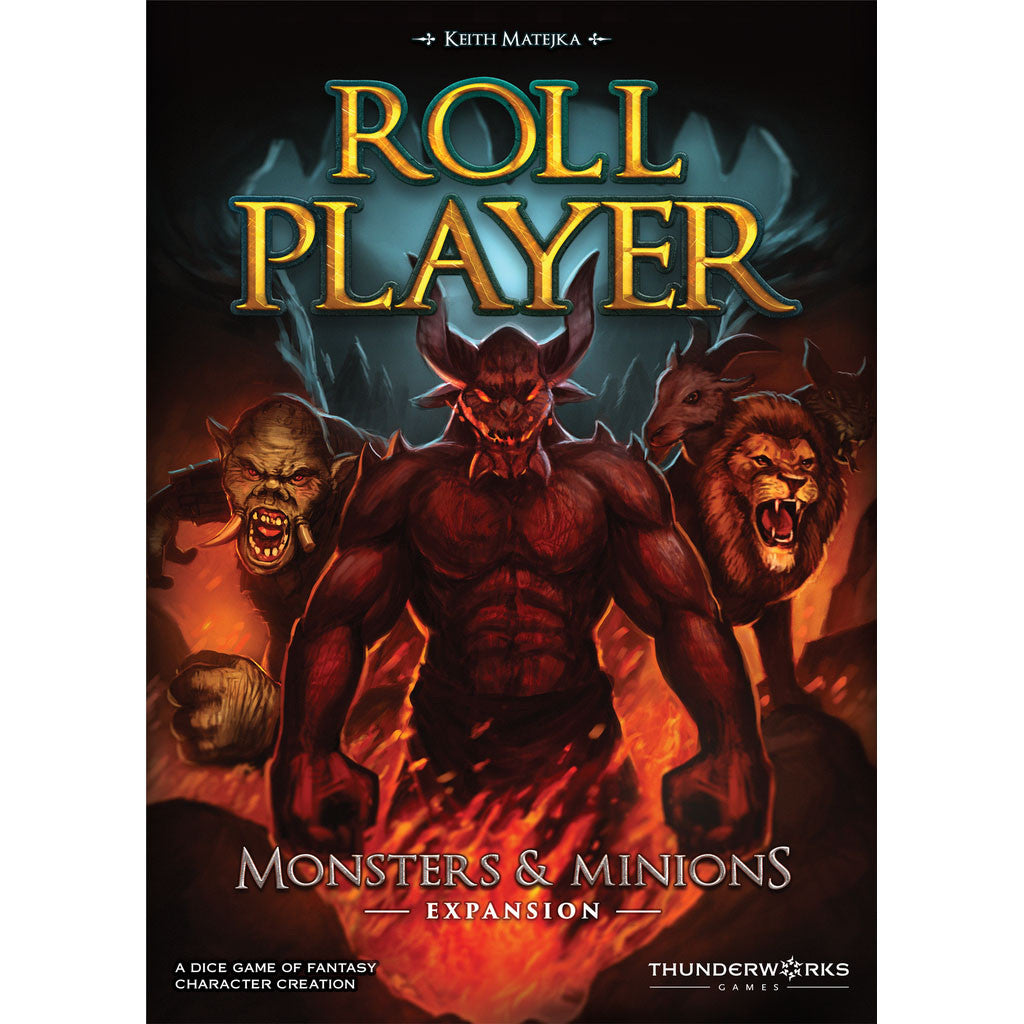 Roll Player Monsters & Minions Expansion