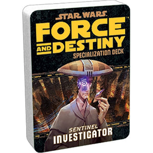 Star Wars Force and Destiny Investigator Specialization Deck