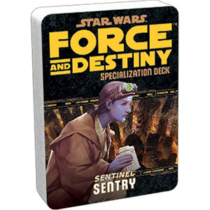 Star Wars Force and Destiny Sentry Specialization Deck