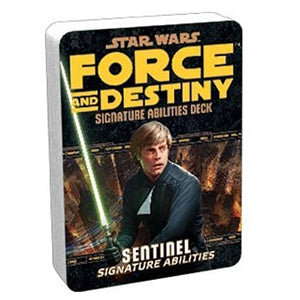 Star Wars Force and Destiny Sentinel Signature Abilities Deck
