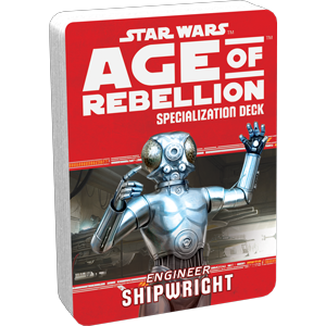 Star Wars Age of Rebellion Shipwright Specialization Deck