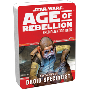 Star Wars Age of Rebellion Droid Specialist Specialization Deck
