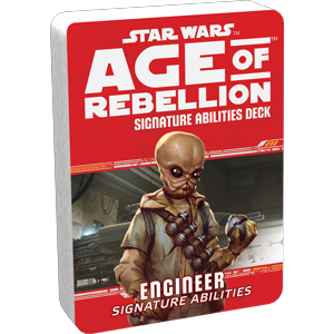 Star Wars Age of Rebellion Engineer Signature Abilities Deck