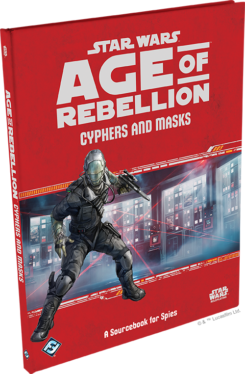 Star Wars Age of Rebellion Cyphers and Masks
