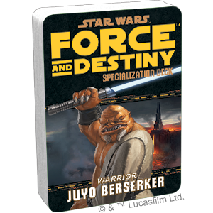 Star Wars Force and Destiny Juyo Berserker Specialization Deck