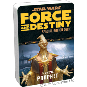Star Wars Force and Destiny Prophet Specialization Deck