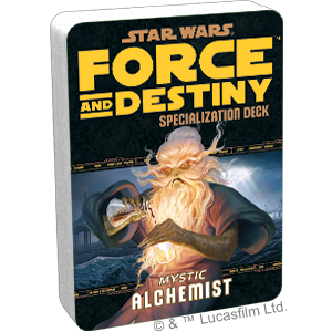 Star Wars Force and Destiny Alchemist Specialization Deck