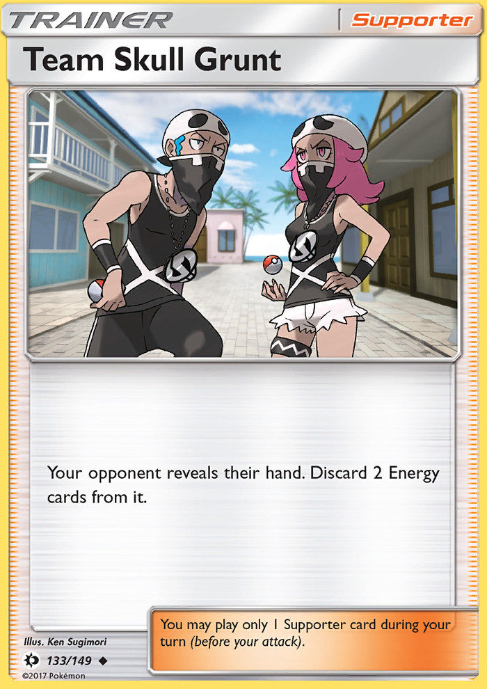 Sun & Moon - Team Skull Grunt - 133/149 - Uncommon
