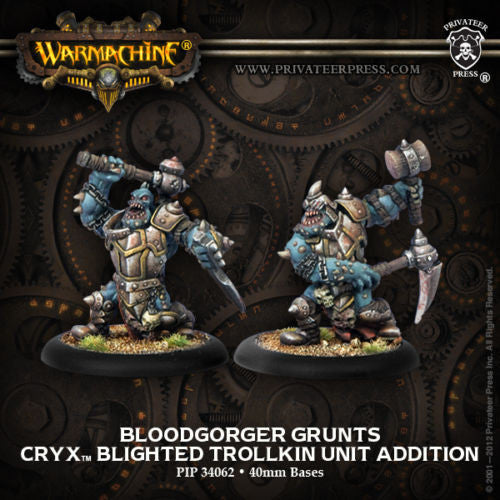 Warmachine Cryx Trollkin Bloodgorgers