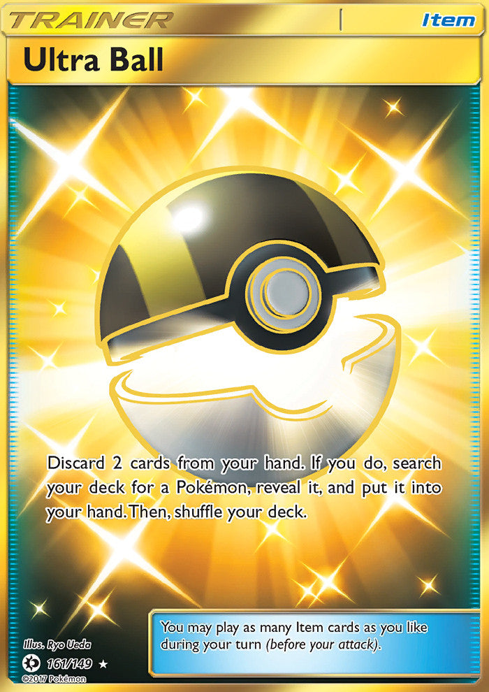 Sun & Moon - Ultra Ball - 161/149 - Secret Rare