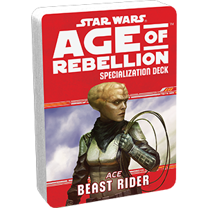Star Wars Age of Rebellion Beast Rider Specialization Deck