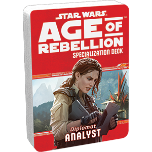 Star Wars Age of Rebellion Analyst Specialization Deck